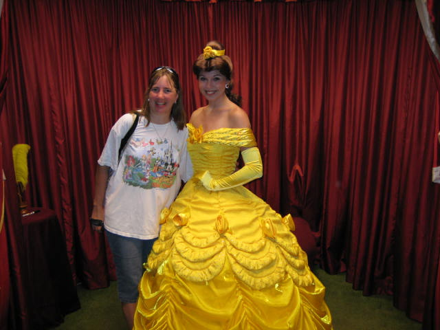 Belle Toontown Hall Of Fame Magic Kingdom Vacation