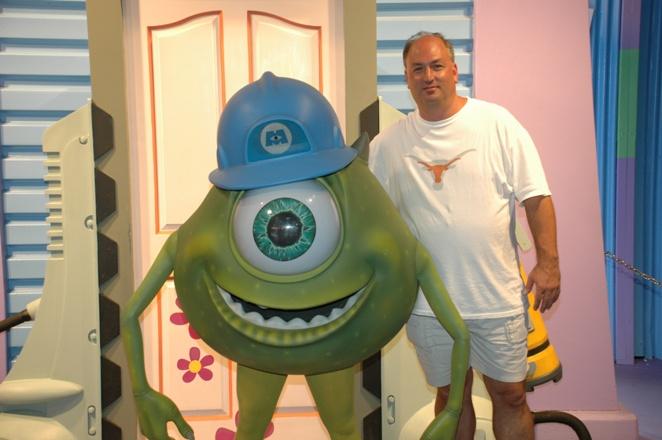 mike wazowski monsters inc commissary lane hollywood