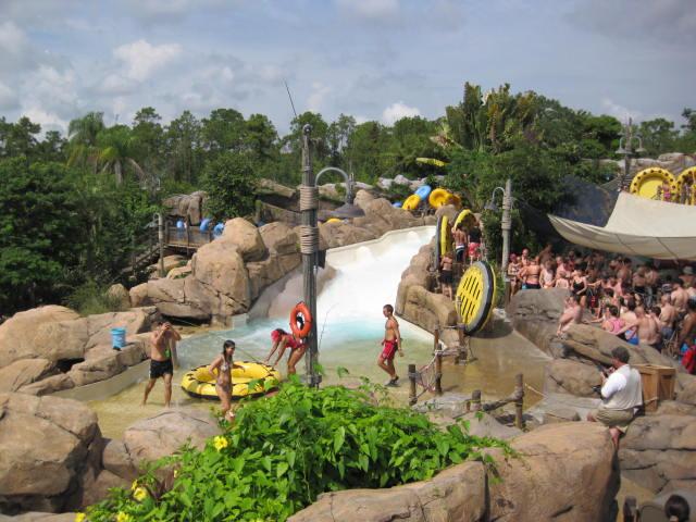 Gangplank Falls Disney Typhoon Lagoon Water Park Vacation
