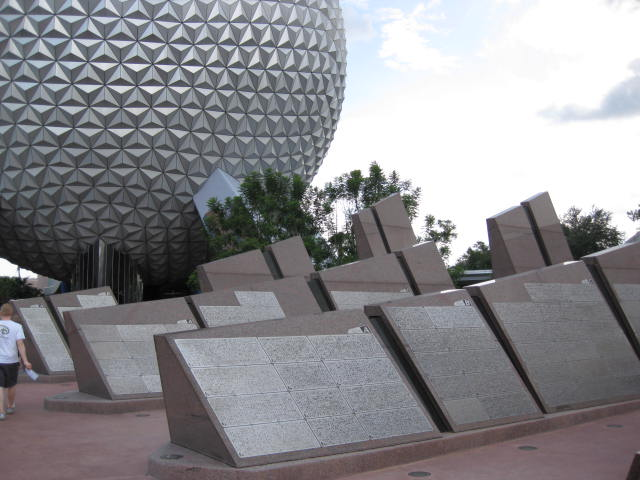 Leave A Legacy Future World Epcot Vacation Pictures Disney