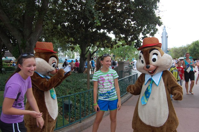 chip n dale great movie ride courtyard hollywood studios