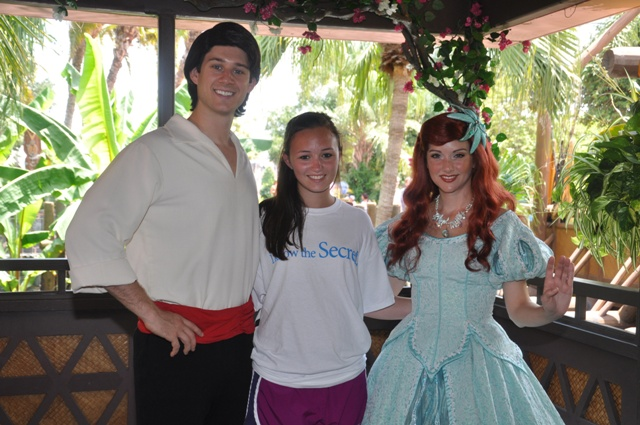 Prince Eric Adventureland Verandah Adventureland Magic ...