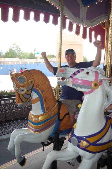 Prince Charming Regal Carrousel Fantasyland Magic Kingdom ...